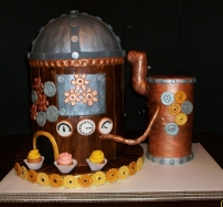 Cake Central Steampunk Cake Contest 2010